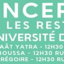 Concerts dans les restaurants universitaires d'Évry