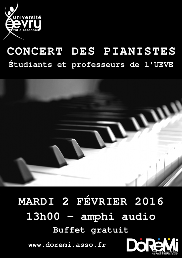 Concert pianistes